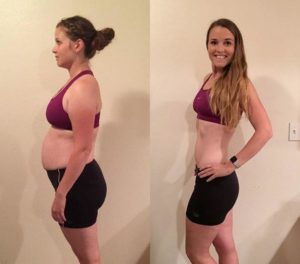 slow carb diet results and before and after photo