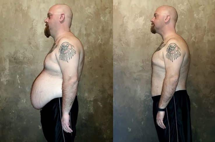 man lost 70 pounds with the slow carb diet
