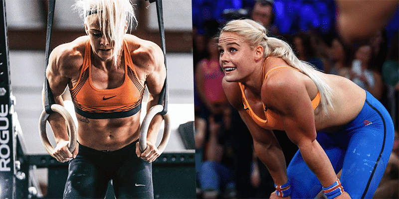 What Sara Sigmundsdóttir looked like before Crossfit