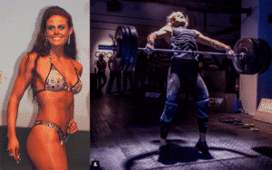 Sara Sigmundsdóttir looked different than she does now before starting crossfit