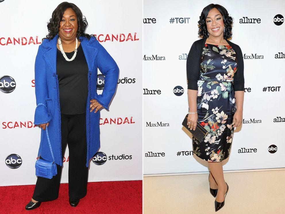 shonda rhimes before and after weight loss pictures