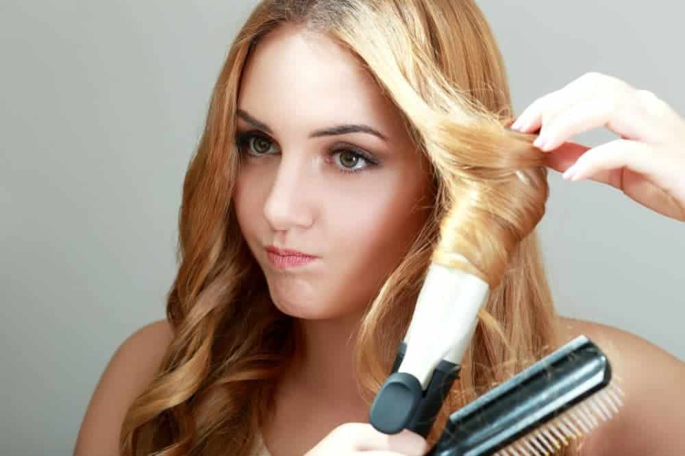 A guide on how to use a curling iron if you have fine hair