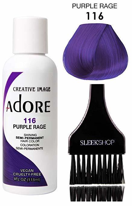 adore creative image purple hair coloring kit