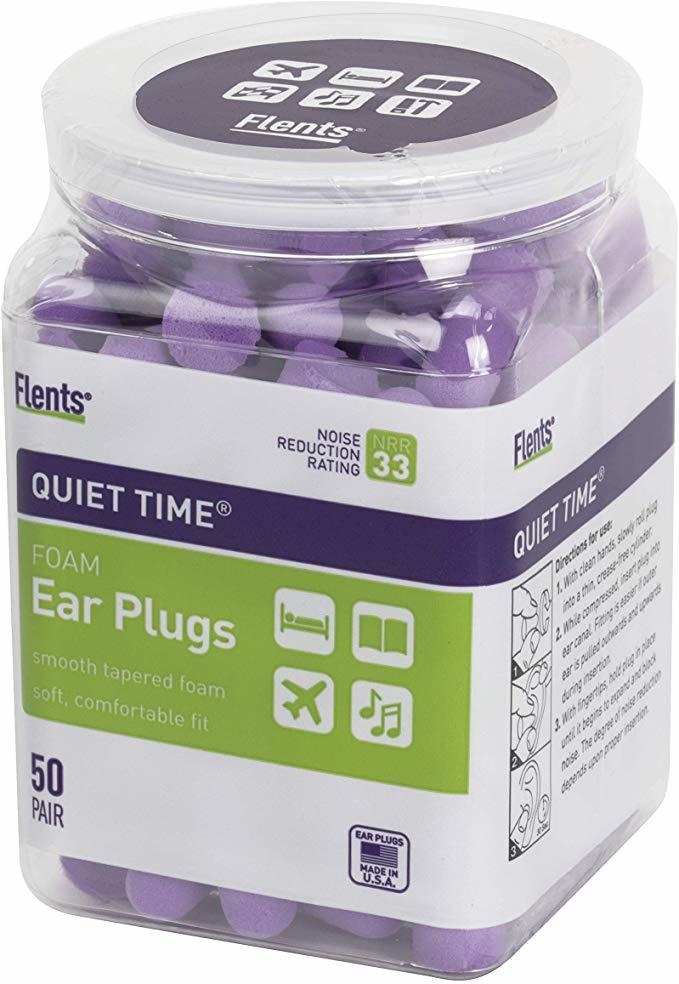 flents foam ear protection plugs