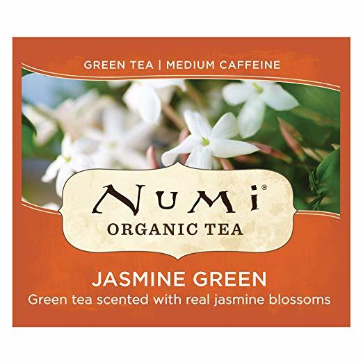 a box of numi brand tea