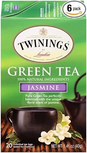 box of twinings of london jasmine green tea