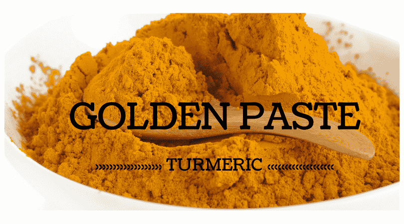 turmeric golden paste for your dog