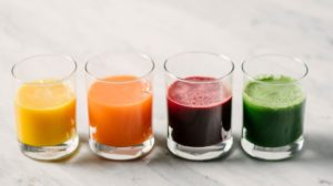 what juice has iron in it