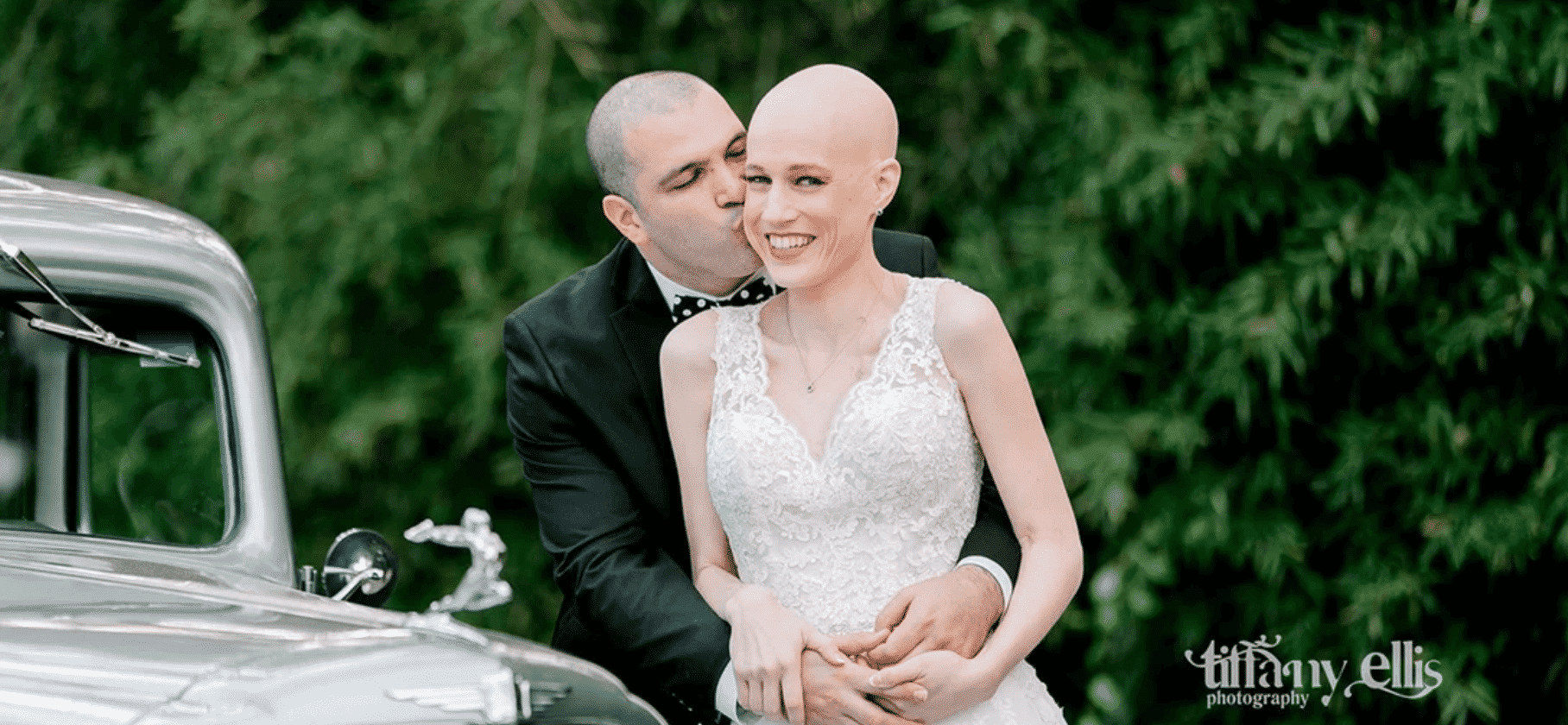 bride with stage 4 cancer gets married