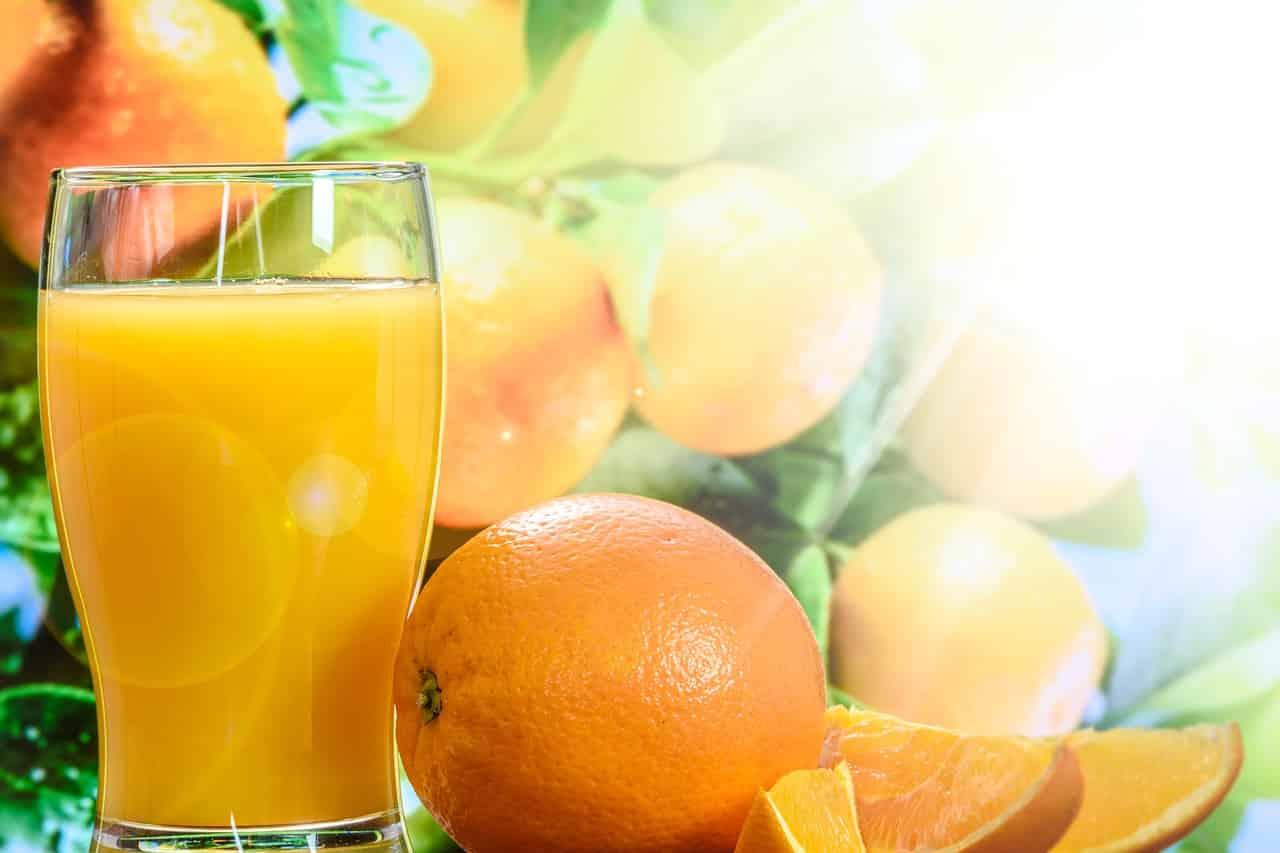 benefits of fresh fruit juice