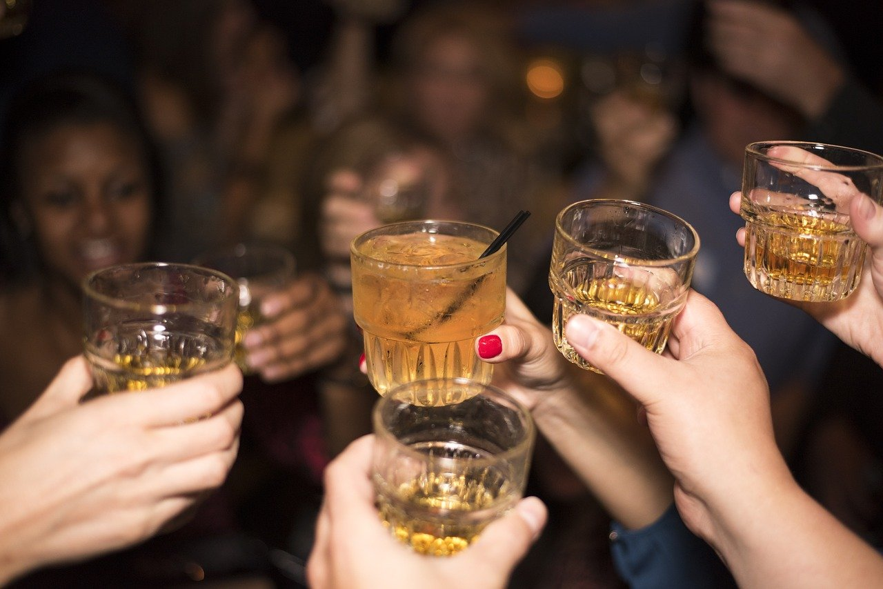 drinking alcohol in social settings