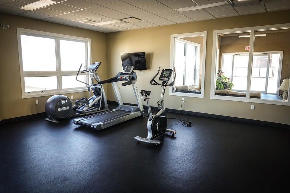 home gym equipment setup