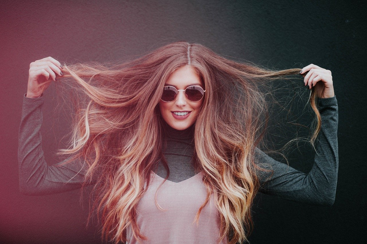 using hair clip extensions