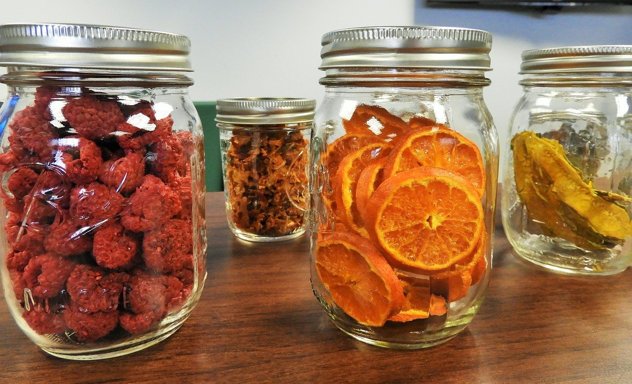 how to store food in mason jars