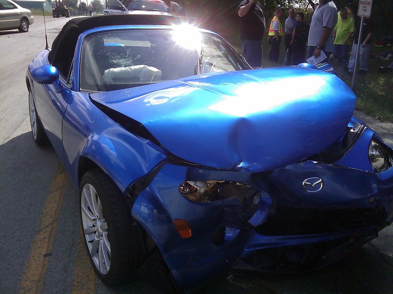 car crash dangers