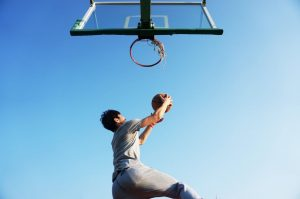What are the benefits of playing basketball