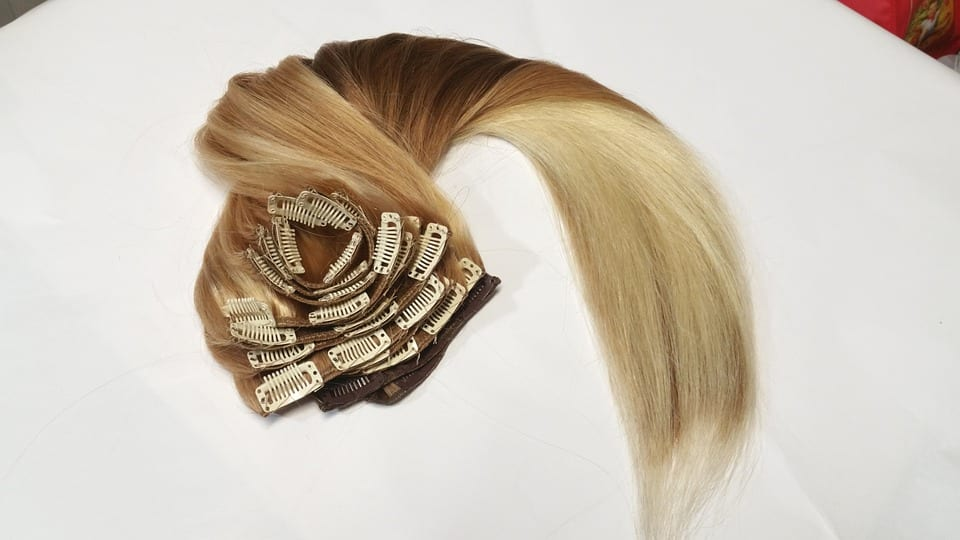taking care of hair extensions