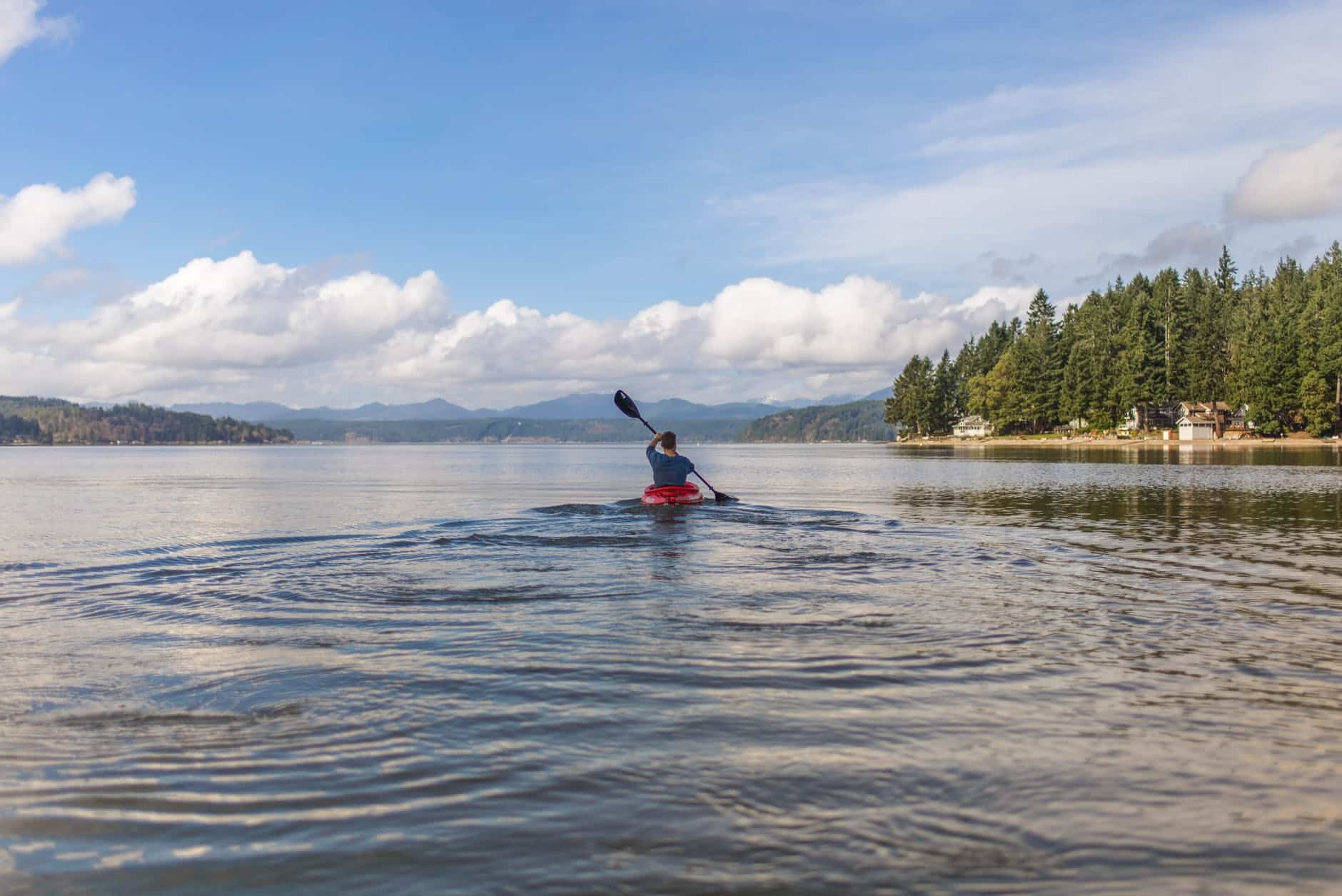 learn how to kayak