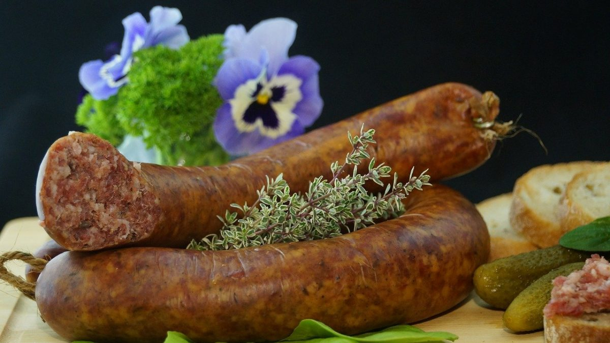 cooking andouille sausage